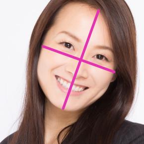 顔の縦横比黄金率について。横幅はどこを測る?