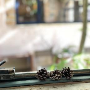 箕面駅近に素敵なカフェ&ギャラリー。サルンポヮク