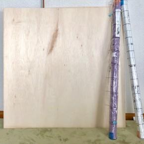 壁紙と合板で物撮り撮影背景をDIYする方法